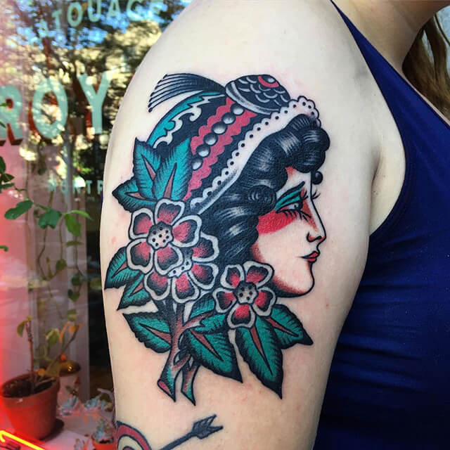 tatoueur Dylan panthère noire