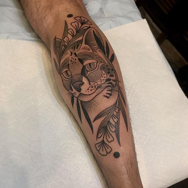 tatoueuse ashley dale tournesol