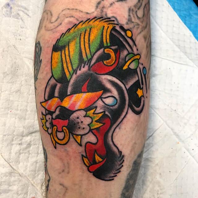 tatouage de Onestray araignée